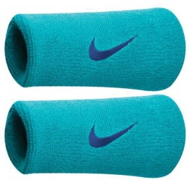 Nike Double Wrist Band liht blue